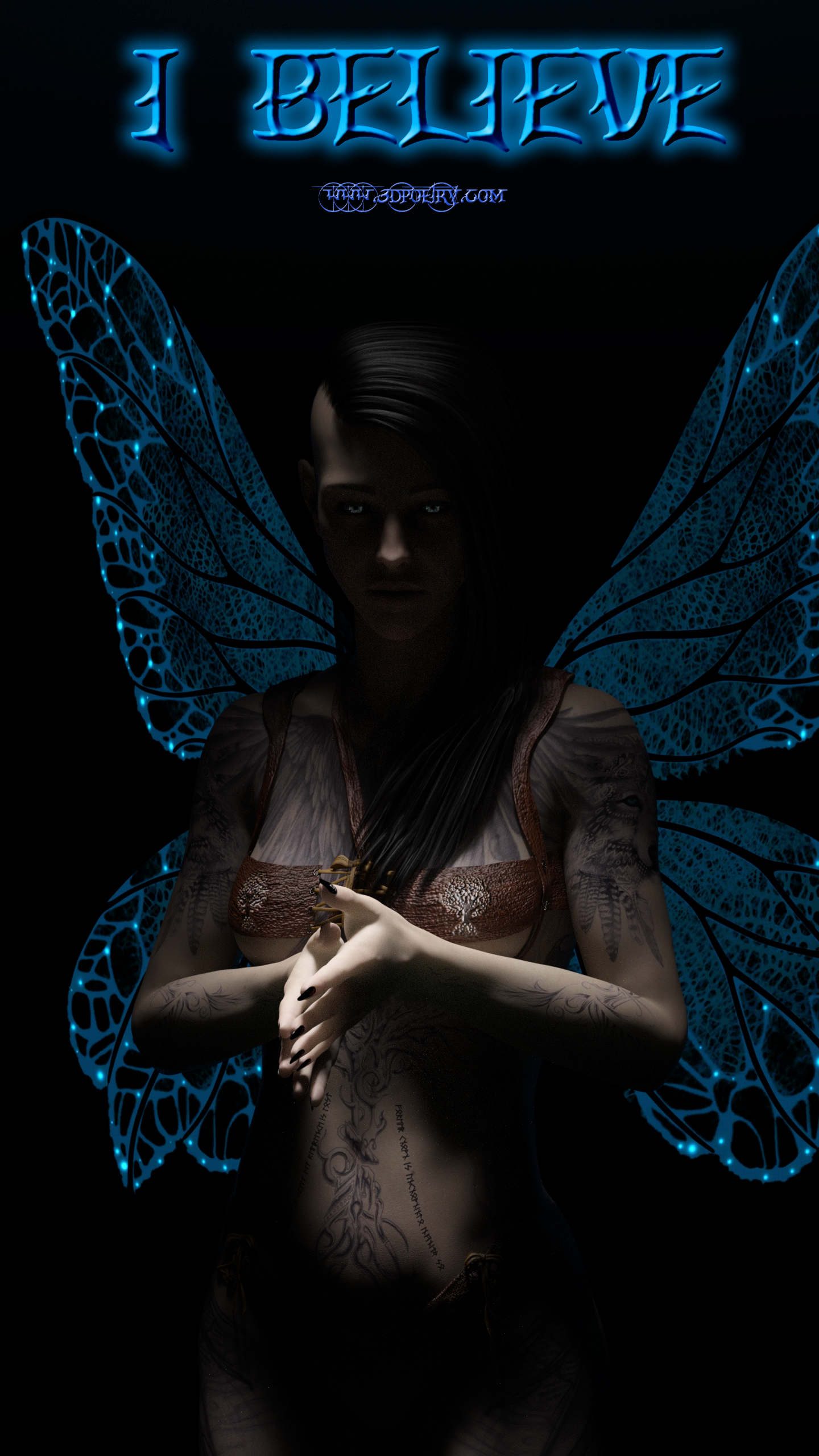 Clap your hands, and say 'I believe in fairies'.