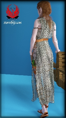 Hi Folks, Many thanks to my wife, Cora has a new outfit with tunic.  Currently d ... see more below