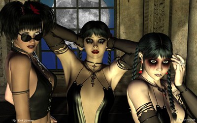 No Evil Sisters ..... Click for preview sizes and downloads