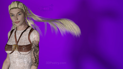 WIP Phoenix Hair Getting There ..... Click for preview sizes and downloads